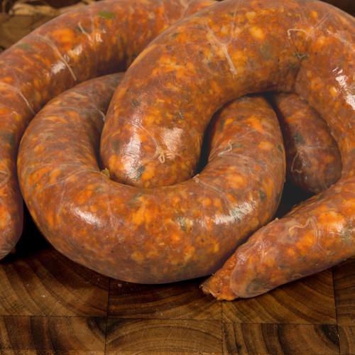 No proper Louisiana BBQ is complete without Cajun Pork Sausage!