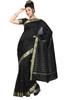 4 Piece Indian Art Silk Sari Saree, Custom Stitched Blouse & petticoat + Bindi