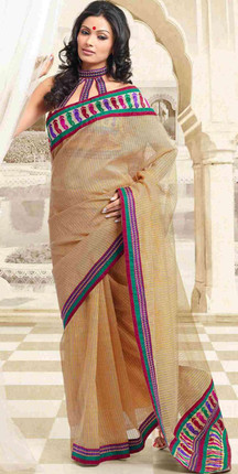 Devi  Bollywood  Designer Party Wear Indian Sari saree bellydance fabric