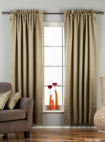Olive Green Rod Pocket 90% blackout Curtain / Drape / Panel  - Piece