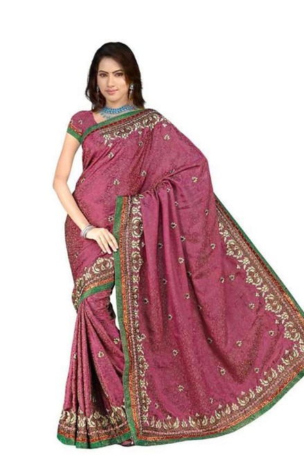 Bhumika  Georgette Indian Sari saree with Embroidery