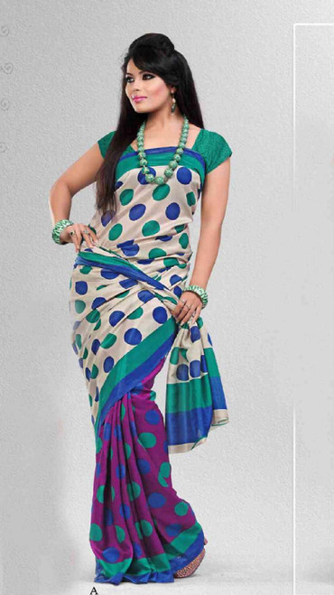Amritana Bollywood Georgette Designer Party Wear Sari saree