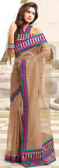 Amba Bollywood  Designer Party Wear Indian Sari saree bellydance fabric