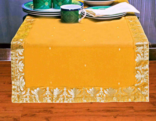 Pumpkin - Hand Crafted Table Runner (India)