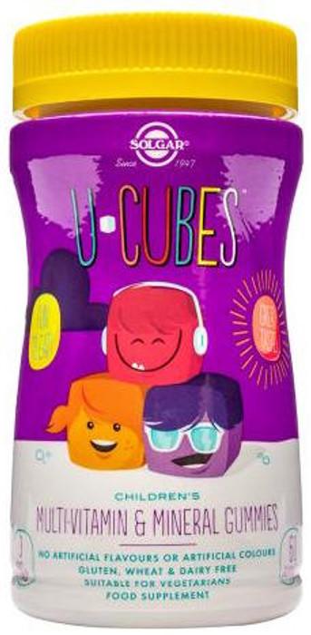 Solgar U-Cubes Multi-Vitamin   Mineral 120 Gummies - Nutri Supplements 972ecc6567a5