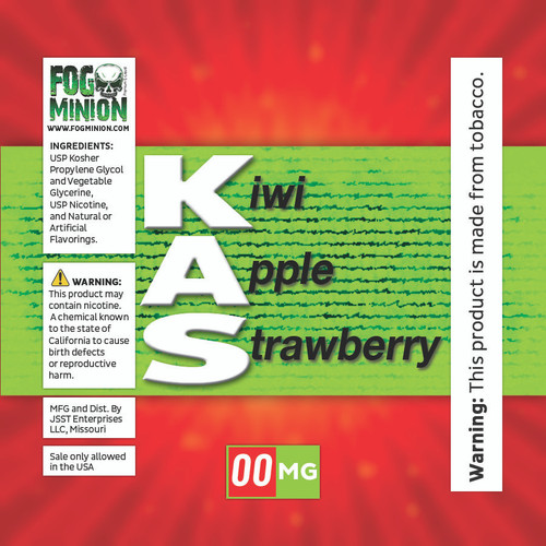 Kiwi Apple Strawberry ( KAS )