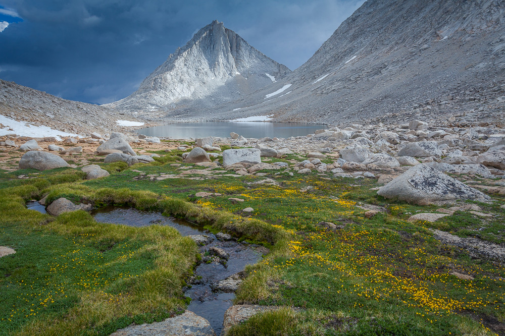 Clearing Thunderstorm - Merriam Peak