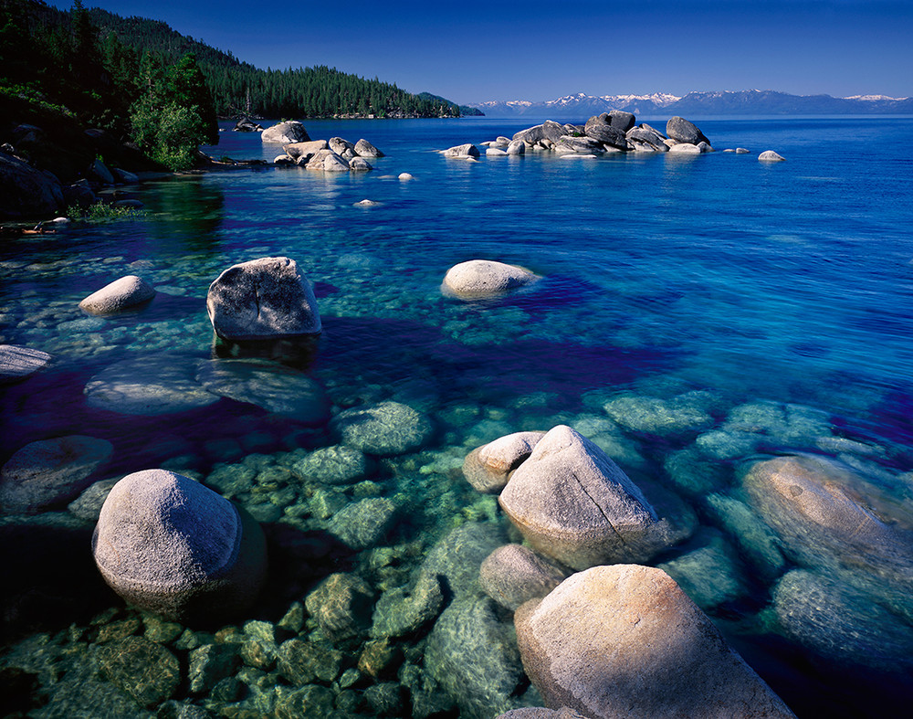 Morning at Sand Harbor, Lake Tahoe