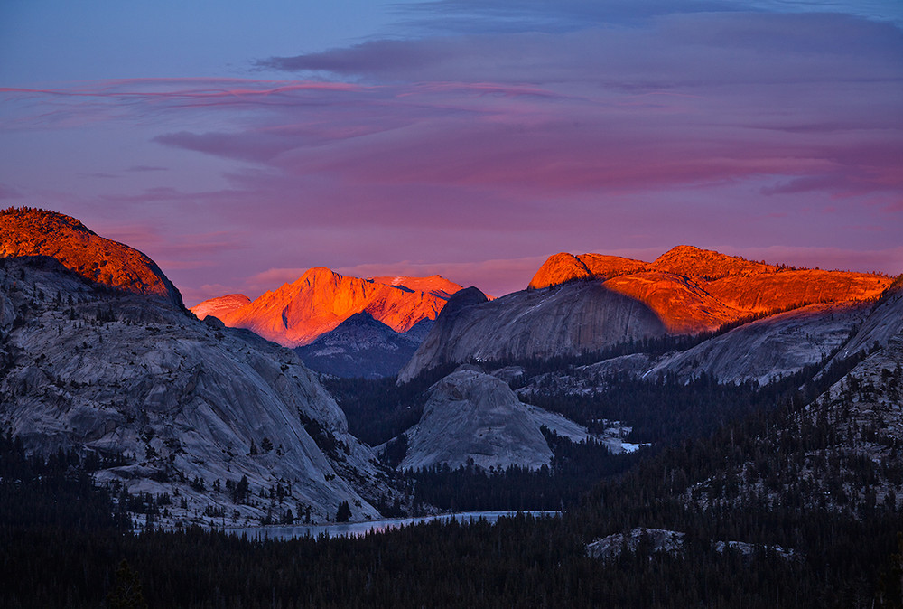 Last Light on Mount Conness