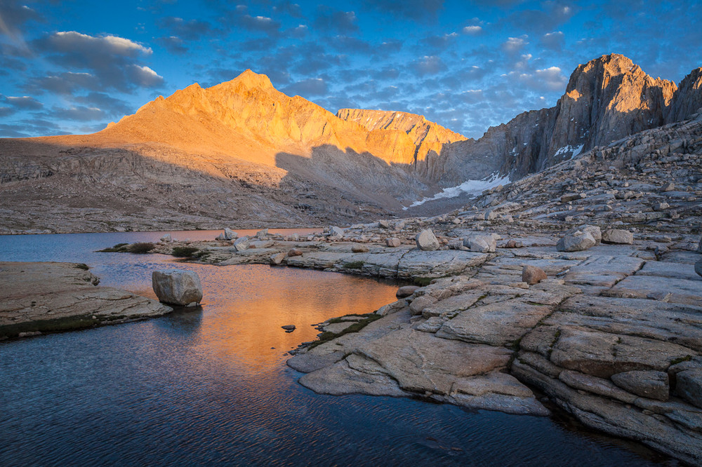 Wallace Lake and Mount Whitney