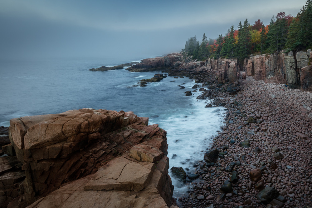 Sunrise along the Acadia Coast