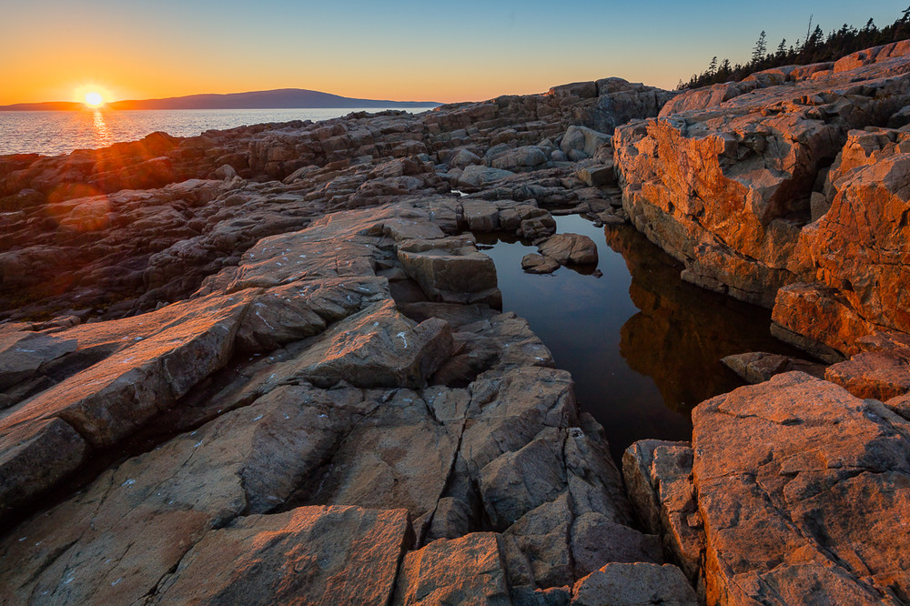 Sunset - Schoodic Point