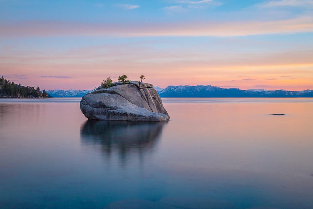 Dusk, Sand Harbor, Lake Tahoe