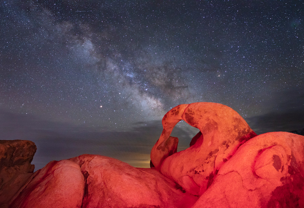 Mobius Arch and the Milky Way