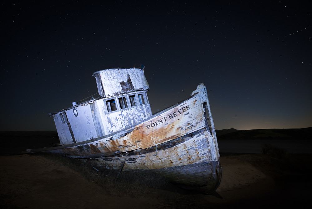 Old Fishing Boat, Tomales Bay