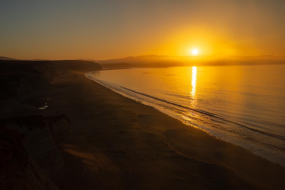 Dawn, Drake's Beach