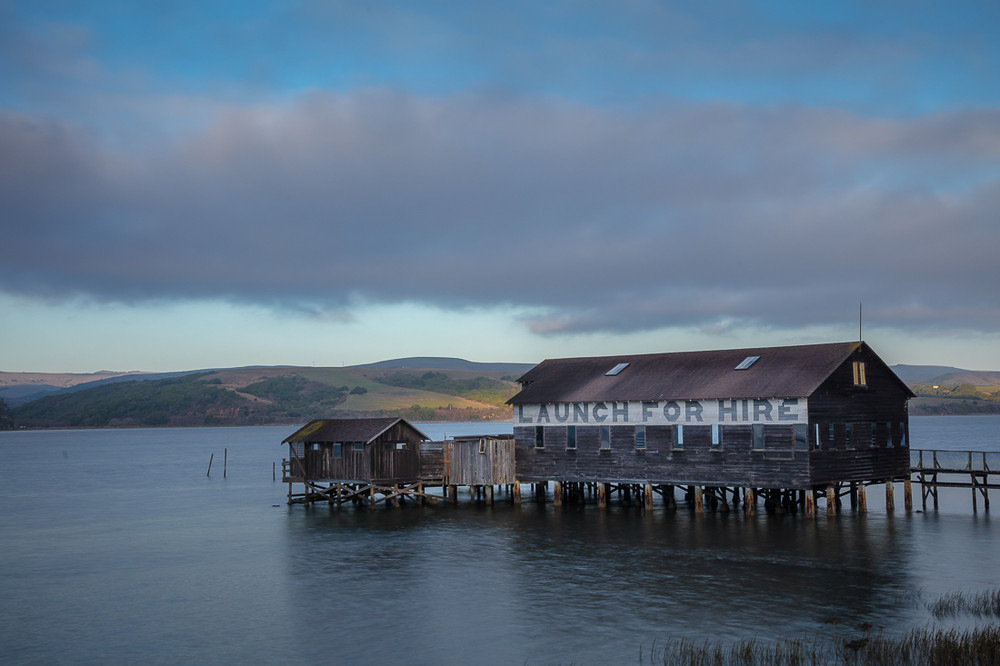 Sunset, Tomales Bay