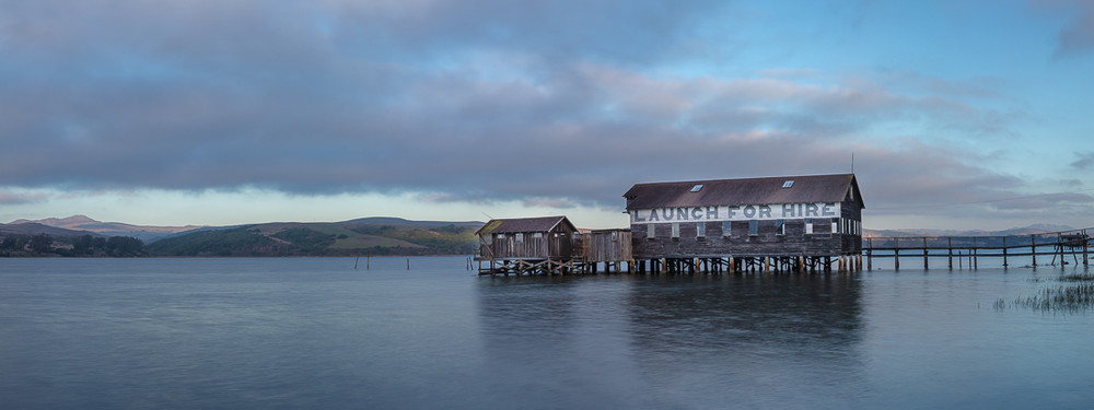 Sunset, Tomales Bay, Panoramic