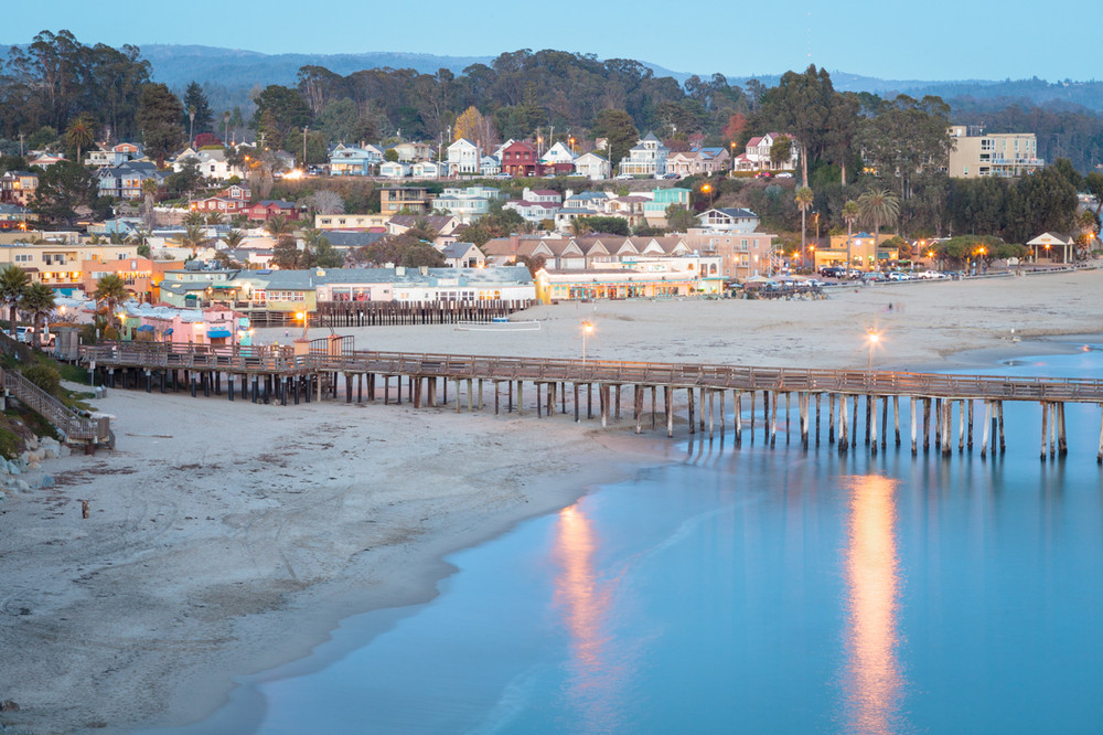 Dusk over Capitola, CA