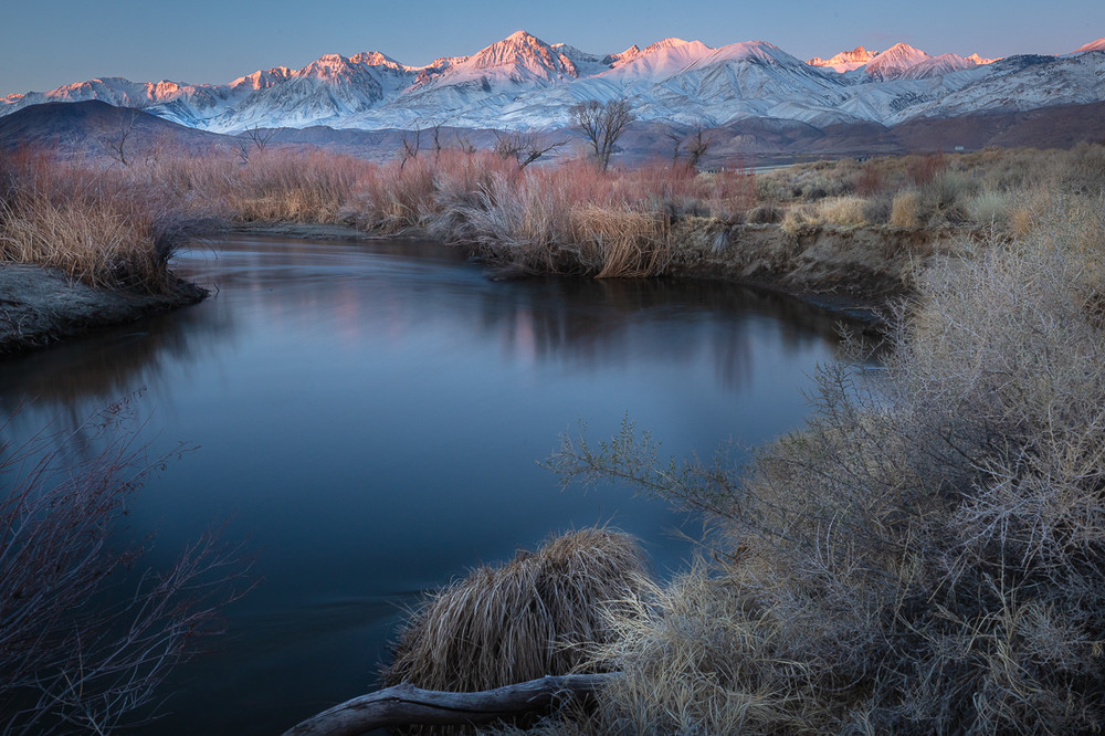 Winter Dawn, the Owens Valley