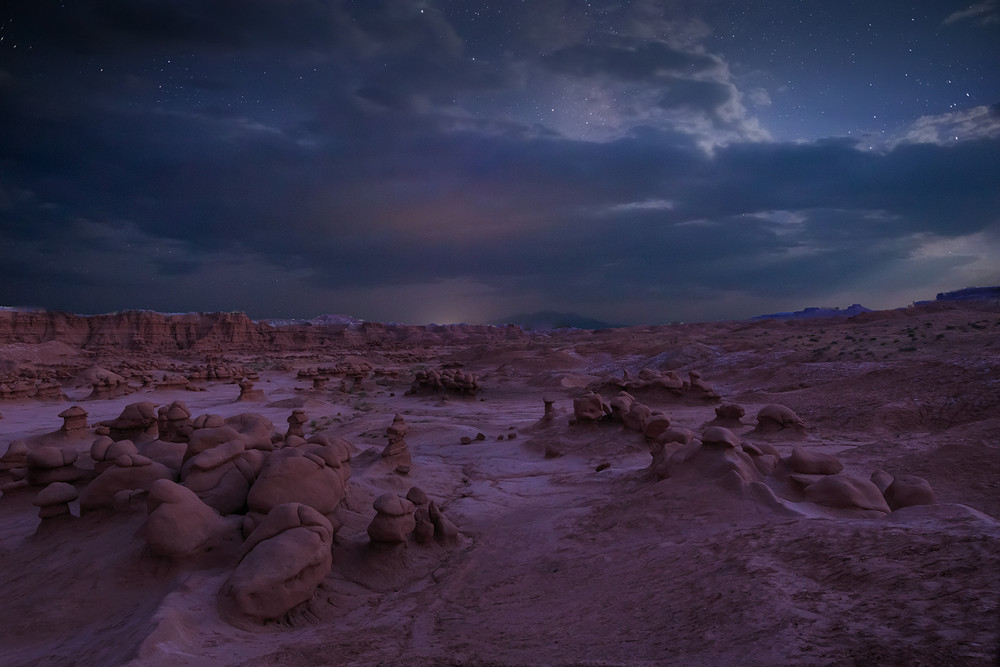 Goblin Valley and the Milky Way