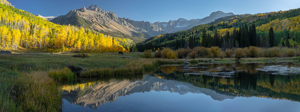 Sneffels Peaks and Autumn Colors