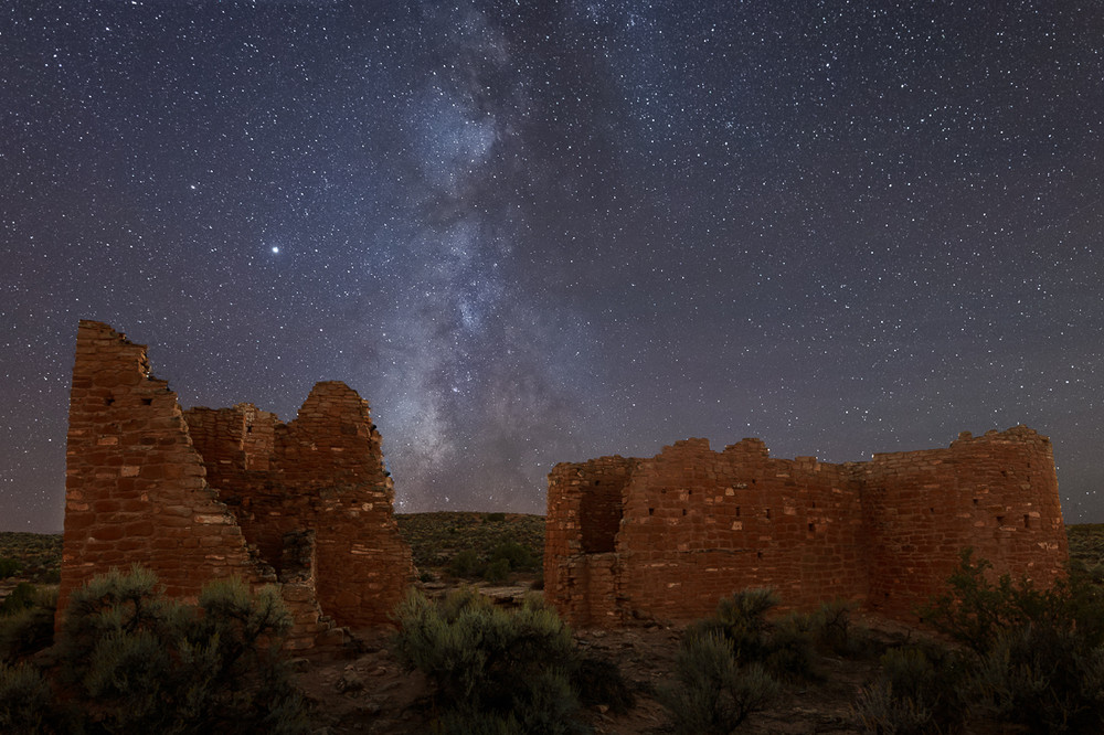 Milky Way and Hovenweep Castle