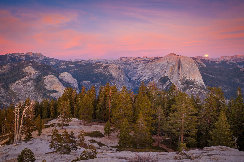 Janurary Full Moon, Yosemite