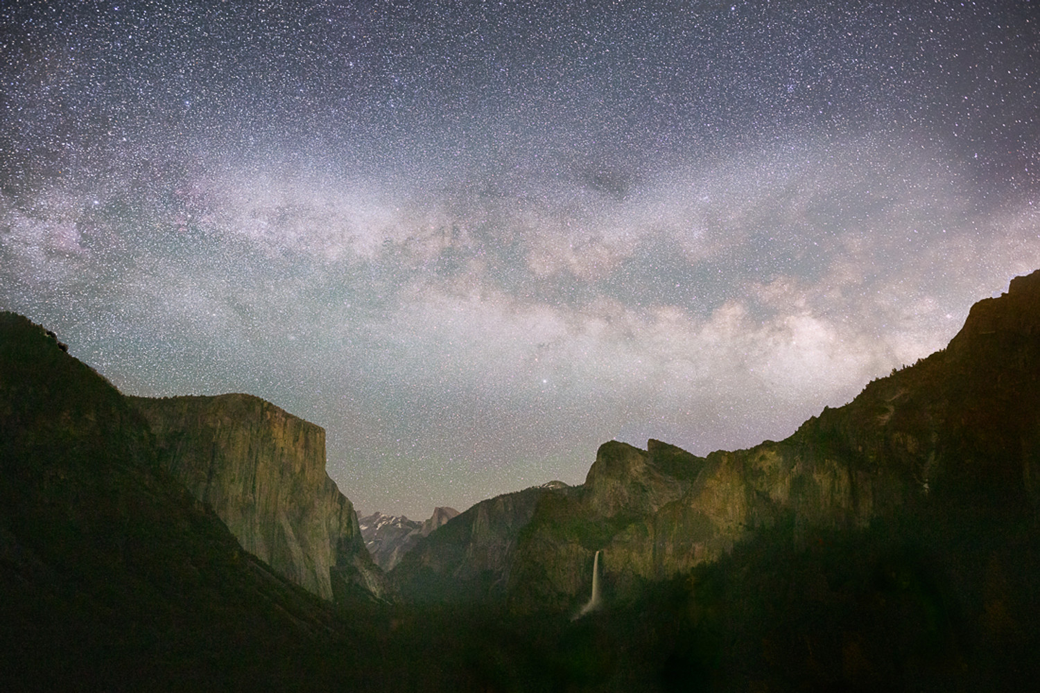 Night  in Yosemite National Park