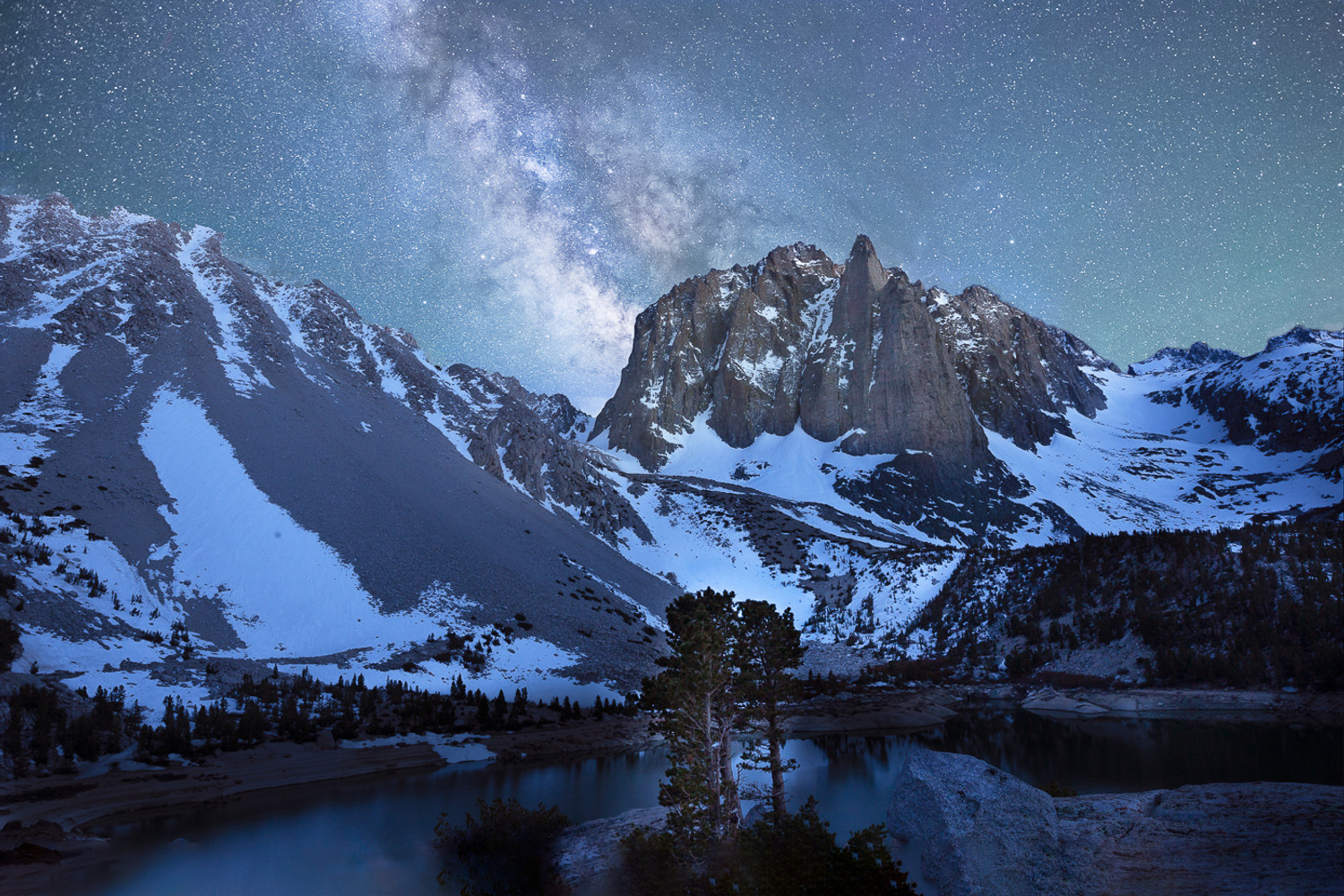 The Milky Way and the Palisades