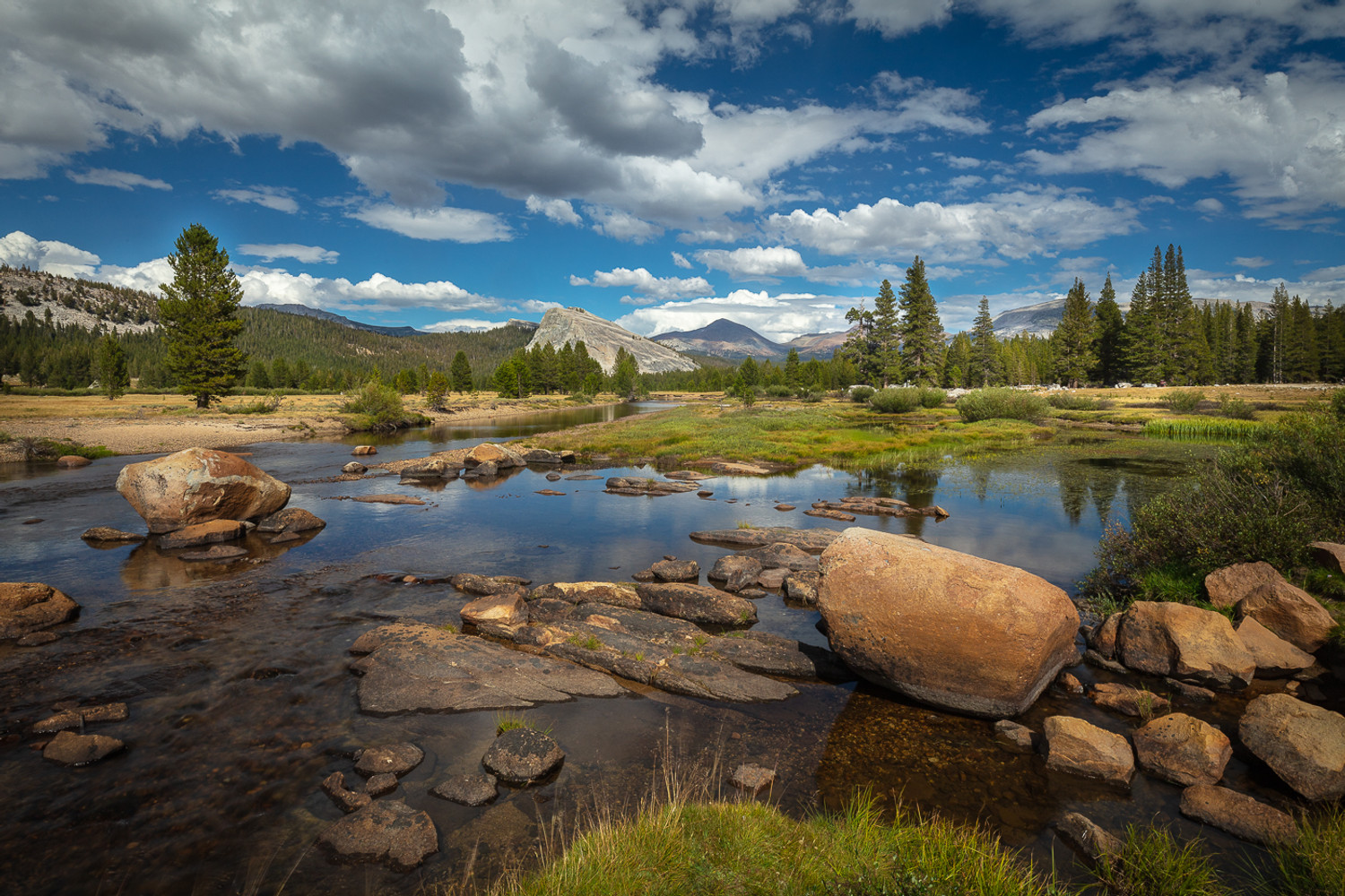 The Late Summer in Tuolumne