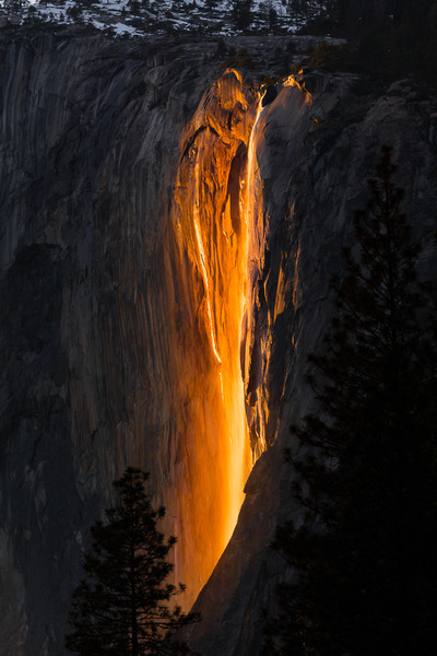 Horsetail Falls, Yosemite 2016