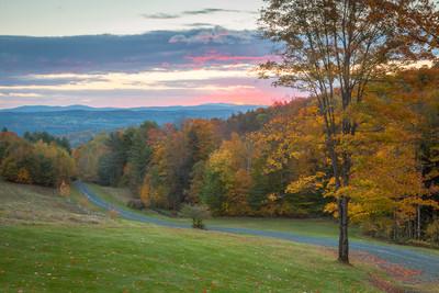 Dawn - Autumn Colors in Vermont