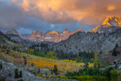 Dawn - Bear Creek Spire and Little Lakes Valley - Vern