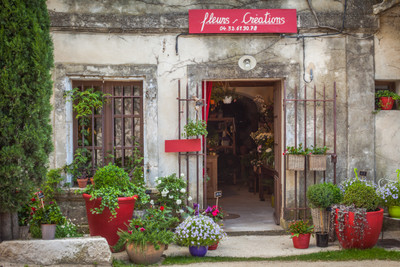 Flower Store at Eygalieres, Provence