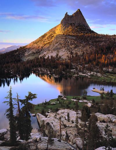Cathedral Peak Sunset