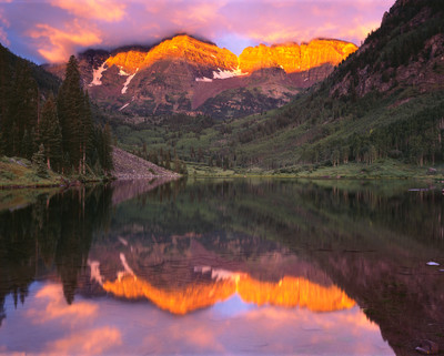Maroon Bells - Dawn