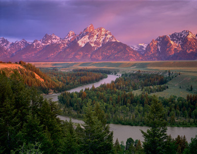 Snake River Overlook  and the Grand Teton