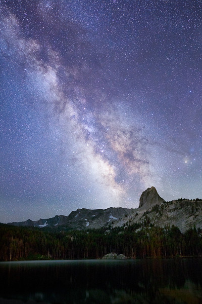 Crystal Crag and the Milky Way
