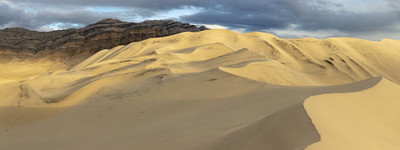 Panoramic of Eureka Dunes