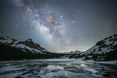 Celestial Evening above Tioga Pass