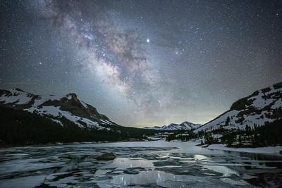 Celestial Evening above Tioga Pass
