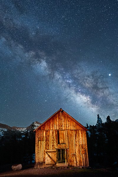 A Moment of the Milky Way in June