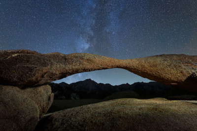 Lathe Arch in the Alabama Hills