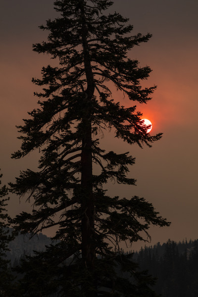 Smokey Skies over Mammoth