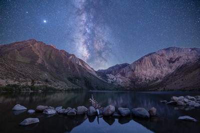 Convict Lake and the Milky Way