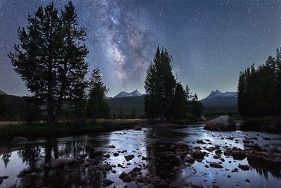 The Milky Way in the Meadows