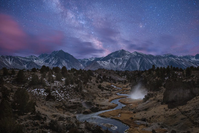 The Milky Way and Hot Creek