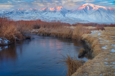 Winter Dawn in the Owens Valley