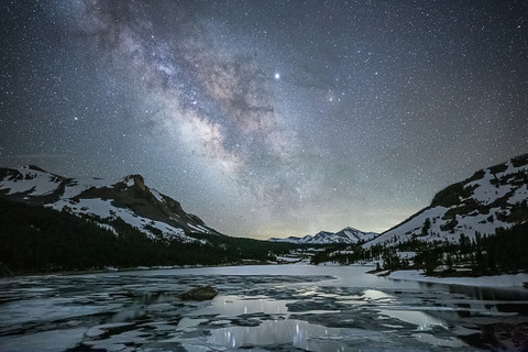 Celestial Evening at Tioga Lake